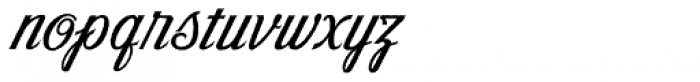 Victory Script Aged Font LOWERCASE