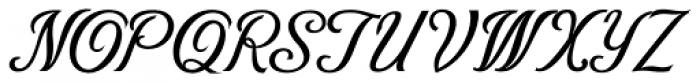 Victory Script Font UPPERCASE