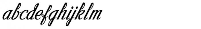 Victory Script Font LOWERCASE