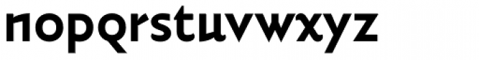 Vidange Pro Bold Font LOWERCASE
