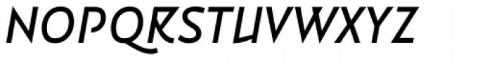 Vidange Pro Medium Italic Font UPPERCASE