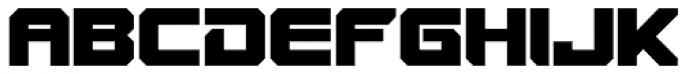 VideoTech Closed Plain Font UPPERCASE