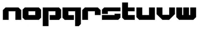VideoTech Closed Plain Font LOWERCASE