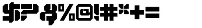 VideoTech Open Plain Font OTHER CHARS