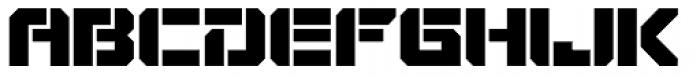 VideoTech Open Plain Font UPPERCASE