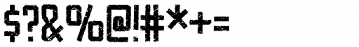 Videomax Regular Font OTHER CHARS