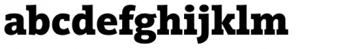 Vigor DT Bold 750 Font LOWERCASE