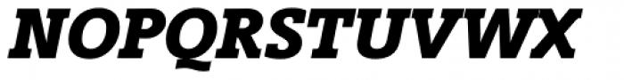 Vigor DT Bold Italic 750 Font UPPERCASE