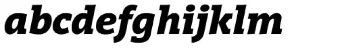 Vigor DT Bold Italic 750 Font LOWERCASE