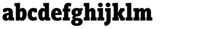 Vigor DT Condensed Bold 750 Font LOWERCASE