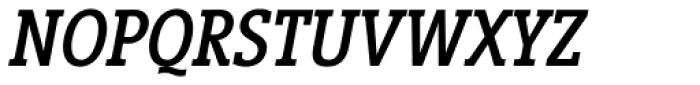 Vigor DT Condensed Medium Italic 375 Font UPPERCASE