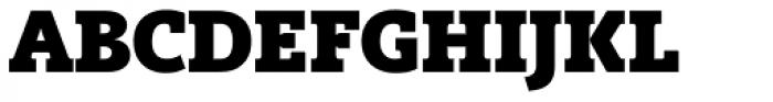 Vigor DT ExtraBold 875 Font UPPERCASE