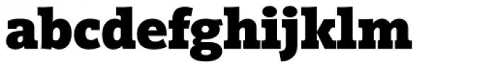 Vigor DT ExtraBold 875 Font LOWERCASE