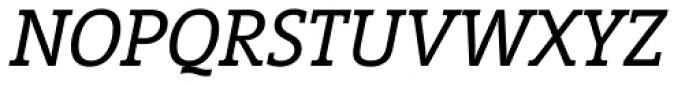 Vigor DT Italic 250 Font UPPERCASE