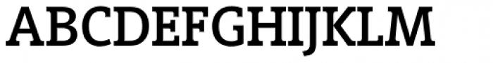 Vigor DT Medium 375 Font UPPERCASE