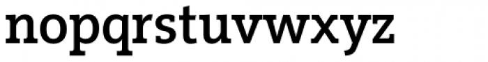 Vigor DT Medium 375 Font LOWERCASE