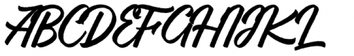 Vigrand Regular Rough Font UPPERCASE