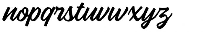 Vigrand Regular Rough Font LOWERCASE