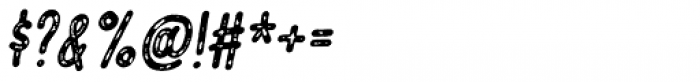 Vigtigper Italic Font OTHER CHARS