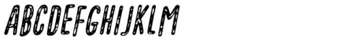 Vigtigper Italic Font UPPERCASE