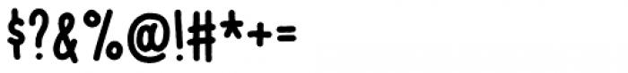 Vigtigper Regular Clean Font OTHER CHARS