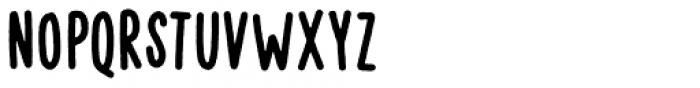 Vigtigper Regular Clean Font LOWERCASE