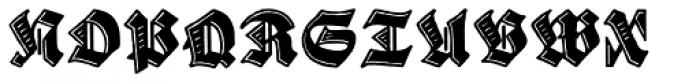 Viking Initials Font UPPERCASE