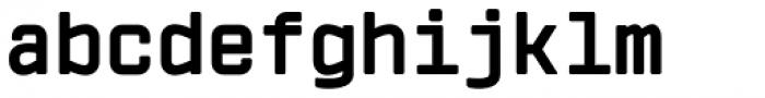 Vin Mono Pro Extra Bold Font LOWERCASE
