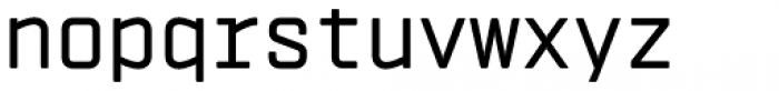 Vin Mono Pro Medium Font LOWERCASE