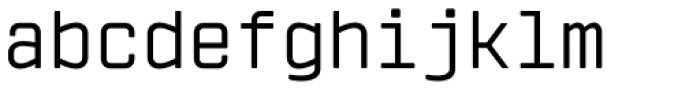 Vin Mono Pro Regular Font LOWERCASE