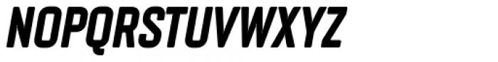 Vin Sans Pro Extra Bold Italic Font UPPERCASE