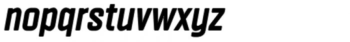 Vin Sans Pro Extra Bold Italic Font LOWERCASE
