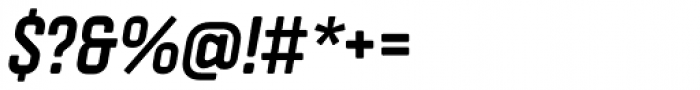 Vin Slab Pro Bold Italic Font OTHER CHARS