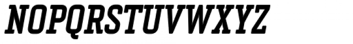 Vin Slab Pro Bold Italic Font UPPERCASE