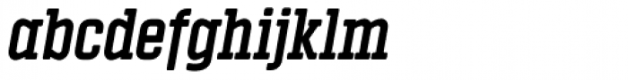 Vin Slab Pro Bold Italic Font LOWERCASE