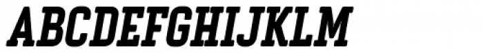 Vin Slab Pro Extra Bold Italic Font UPPERCASE
