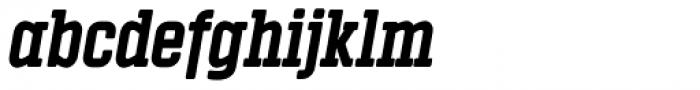 Vin Slab Pro Extra Bold Italic Font LOWERCASE