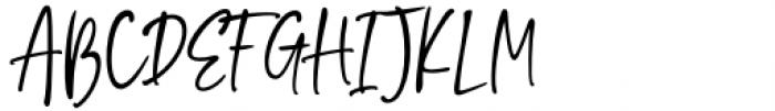 Vincent Familiante Regular Font UPPERCASE