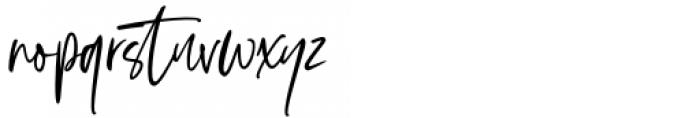 Vincent Familiante Regular Font LOWERCASE