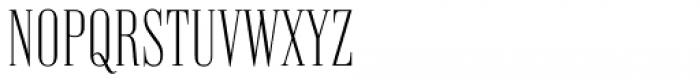 Vincente Extra Light Font UPPERCASE