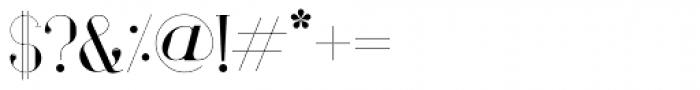 Vindeco Font OTHER CHARS