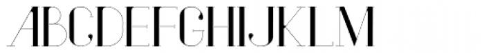 Vindeco Font UPPERCASE