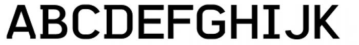 Vindex Font UPPERCASE
