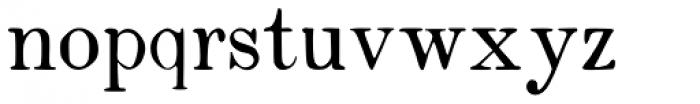 Vine Street 100 Font LOWERCASE
