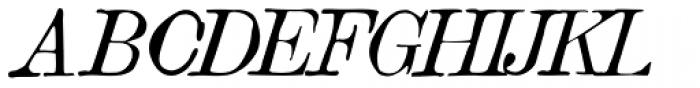 Vine Street Italic 100 Font UPPERCASE
