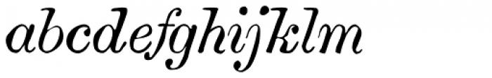Vine Street Italic 100 Font LOWERCASE