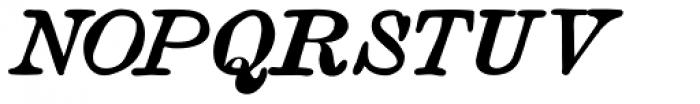 Vine Street Italic Bold 100 Font UPPERCASE