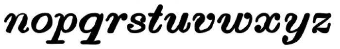 Vine Street Italic Bold 100 Font LOWERCASE