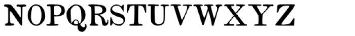 Vine Street Small Caps Font LOWERCASE
