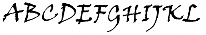 Viner Hand Std Font UPPERCASE